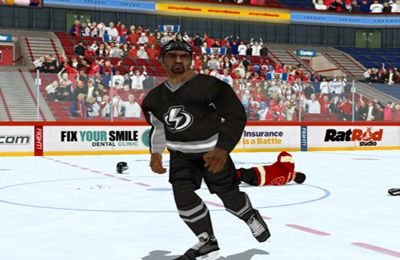 Screenshots vom Spiel Hockey Fight Pro für iPhone, iPad oder iPod.
