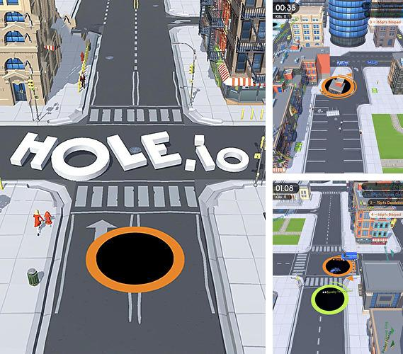 Download Hole.io iPhone free game.