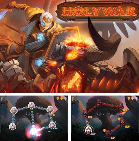 In addition to the game Ice Halloween for iPhone, iPad or iPod, you can also download Holy war for free.