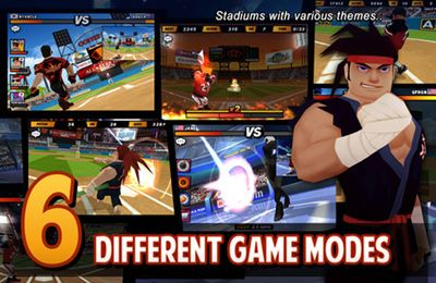 Descarga gratuita de Homerun Battle 2 para iPhone, iPad y iPod.
