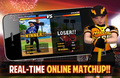 Capturas de pantalla del juego Homerun Battle 2 para iPhone, iPad o iPod.