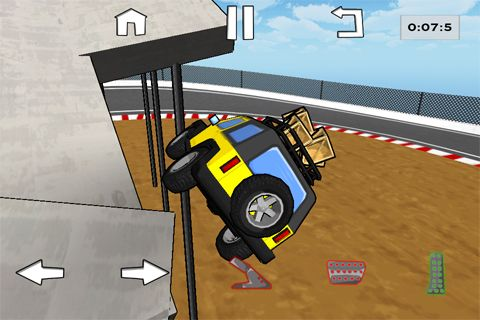 Screenshots of the Hondune's truck trials game for iPhone, iPad or iPod.