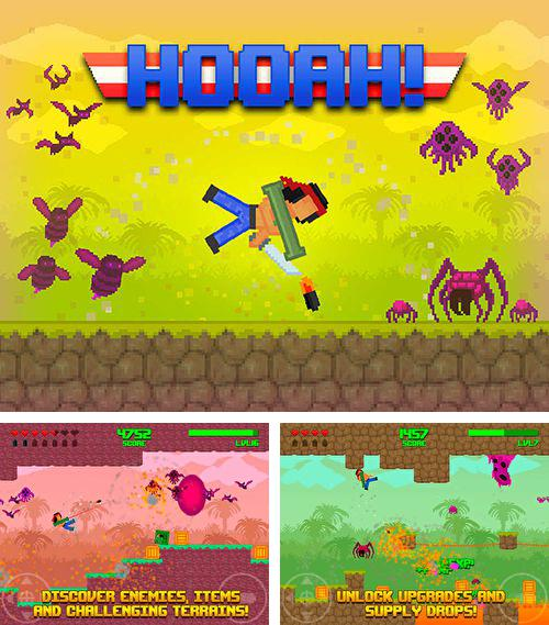 In addition to the game Ice cream surfer for iPhone, iPad or iPod, you can also download Hooah! for free.