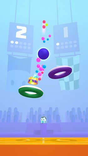 Screenshots of the Hoop stars game for iPhone, iPad or iPod.