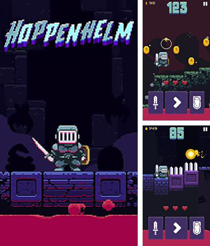 In addition to the game Blaze and the monster machines for iPhone, iPad or iPod, you can also download Hoppenhelm for free.