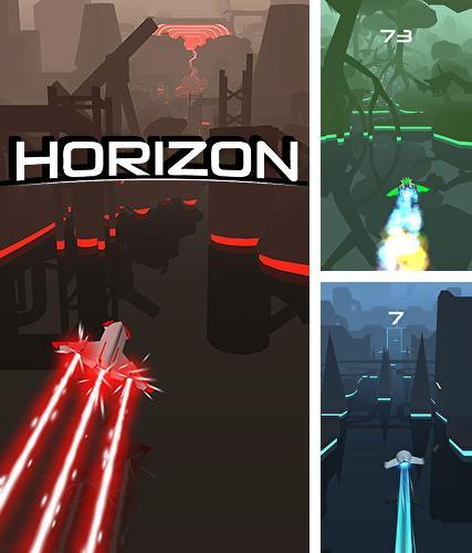 In addition to the game Leap of fate for iPhone, iPad or iPod, you can also download Horizon for free.