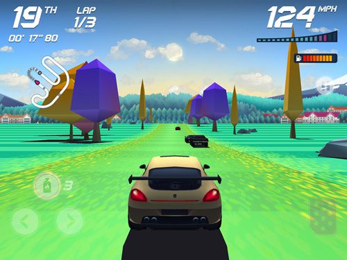 Screenshots of the Horizon chase: World tour game for iPhone, iPad or iPod.