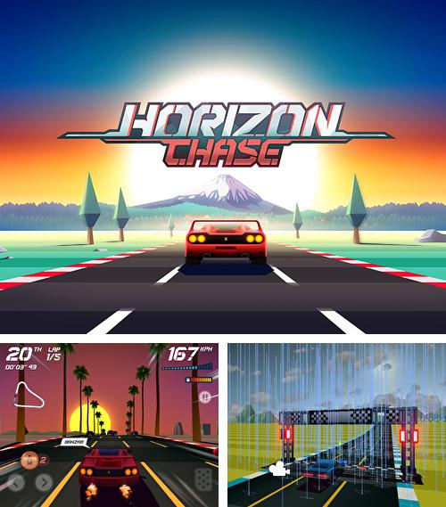 除了 iPhone、iPad 或 iPod 游戏,您还可以免费下载Horizon chase: World tour, 。