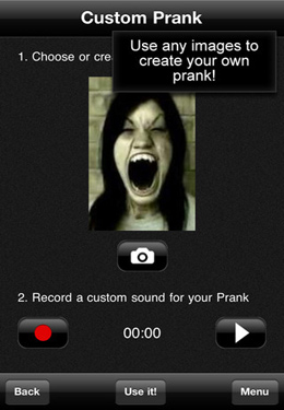 Download Horror Prank - Super Scary & FaceTime video recording of your victim ! iPhone free game.