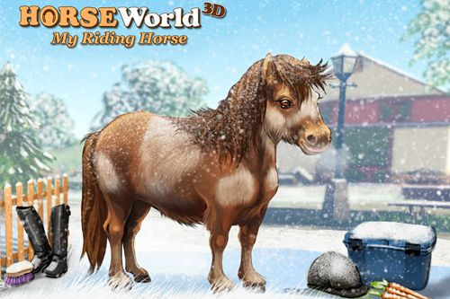 Horse world 3D: My riding Horse. Christmas edition