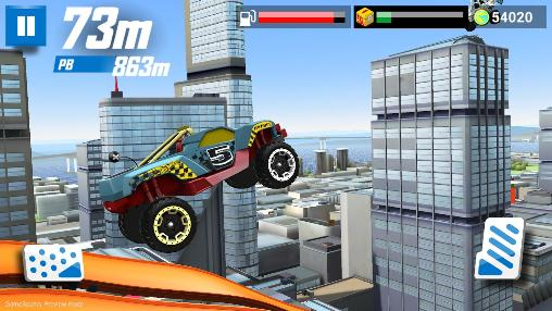 Écrans du jeu Hot wheels: Race off pour iPhone, iPad ou iPod.