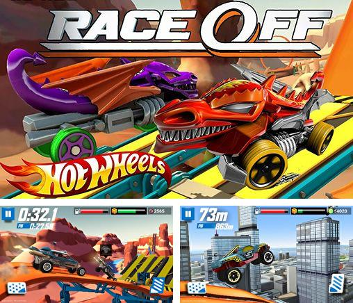 除了 iPhone、iPad 或 iPod 游戏,您还可以免费下载Hot wheels: Race off, 。