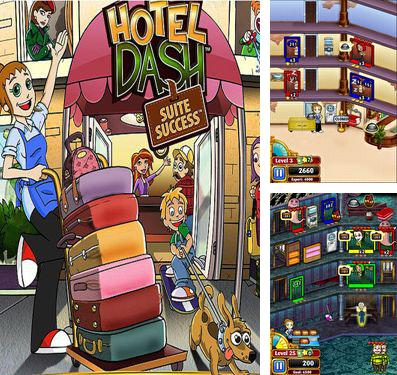 In addition to the game Mr. Runner 2: The Masks for iPhone, iPad or iPod, you can also download Hotel Dash for free.