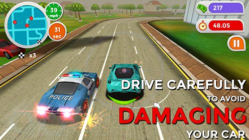 Descarga gratuita de Hotfoot: City racer para iPhone, iPad y iPod.
