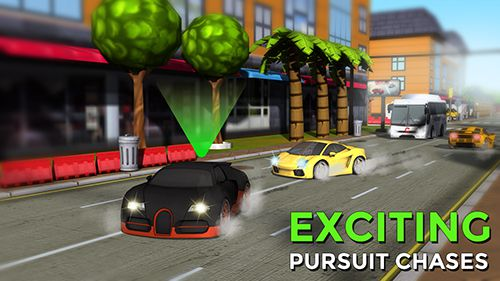 Capturas de pantalla del juego Hotfoot: City racer para iPhone, iPad o iPod.