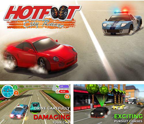 Download Hotfoot: City racer iPhone free game.