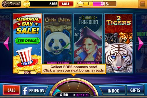 Гра House of fun: Slots для iPhone