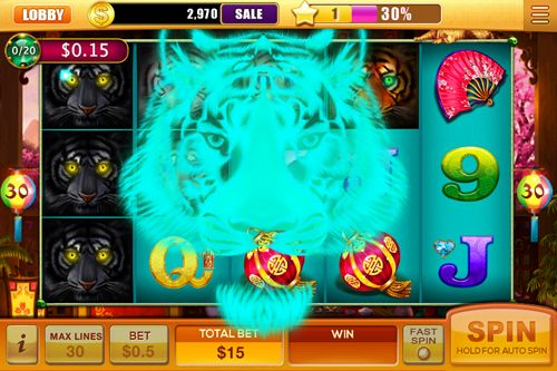 Screenshots vom Spiel House of fun: Slots für iPhone, iPad oder iPod.