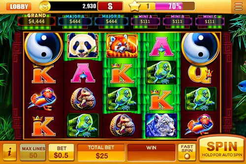 Screenshots of the House of fun: Slots game for iPhone, iPad or iPod.