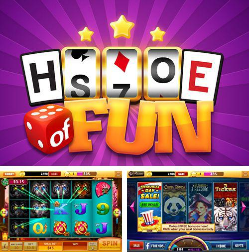 In addition to the game Pou for iPhone, iPad or iPod, you can also download House of fun: Slots for free.