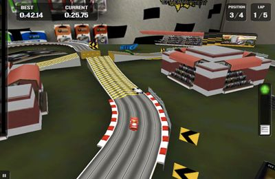 Screenshots vom Spiel HTR High Tech Racing Evolution für iPhone, iPad oder iPod.