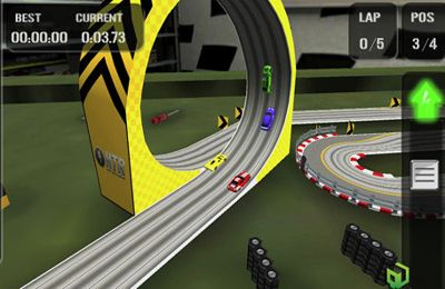 Screenshots of the HTR High Tech Racing Evolution game for iPhone, iPad or iPod.