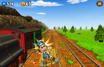 Download Hugo Troll Race iPhone free game.