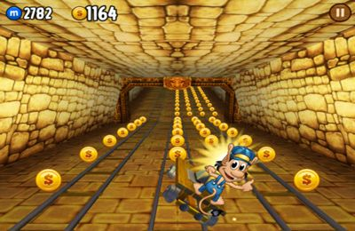 Capturas de pantalla del juego Hugo Troll Race para iPhone, iPad o iPod.