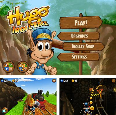 In addition to the game Super Mushrooms for iPhone, iPad or iPod, you can also download Hugo Troll Race for free.
