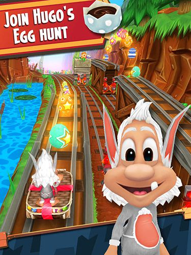 Download Hugo troll race 2 iPhone free game.