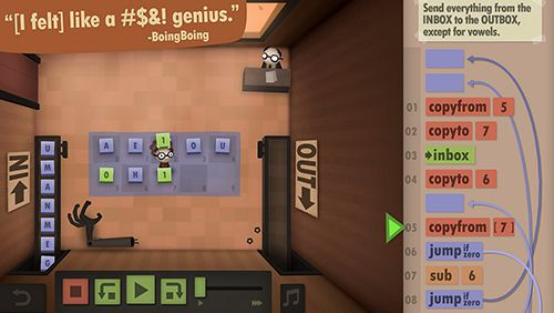 Игра Human resource machine для iPhone