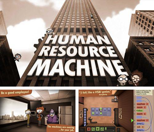 In addition to the game Robot warlords for iPhone, iPad or iPod, you can also download Human resource machine for free.