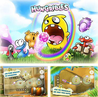 In addition to the game Zombie mania for iPhone, iPad or iPod, you can also download Hungribles for free.