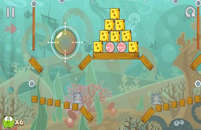 Screenshots of the Hungry Piggy game for iPhone, iPad or iPod.