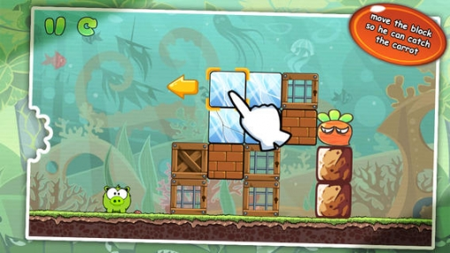 Screenshots of the Hungry Piggy 3: Carrot game for iPhone, iPad or iPod.
