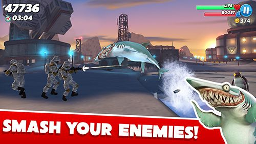 Download Hungry shark world iPhone free game.