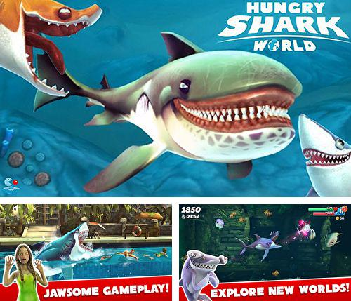 In addition to the game Tropicats: Puzzle paradise for iPhone, iPad or iPod, you can also download Hungry shark world for free.