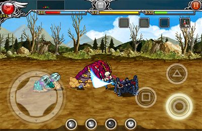 Screenshots of the HYBRID 2: Saga of Nostalgia game for iPhone, iPad or iPod.