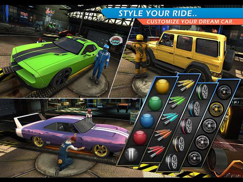 Screenshots do jogo Hybrid racing para iPhone, iPad ou iPod.