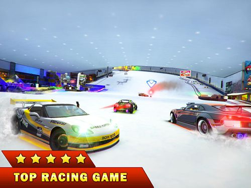 Screenshots of the Hybrid racing game for iPhone, iPad or iPod.