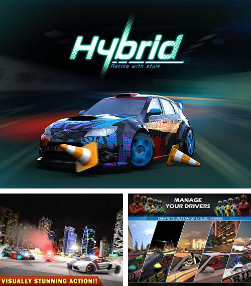 In addition to the game Draw Rider Plus for iPhone, iPad or iPod, you can also download Hybrid racing for free.
