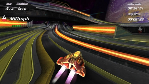 Screenshots of the Hyper race game for iPhone, iPad or iPod.
