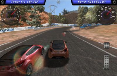 Capturas de pantalla del juego Hyundai Veloster HD para iPhone, iPad o iPod.