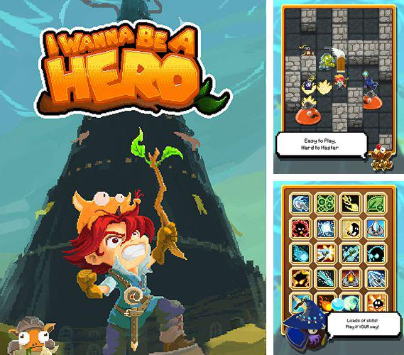 In addition to the game Hero of Magic for iPhone, iPad or iPod, you can also download I wanna be a hero for free.