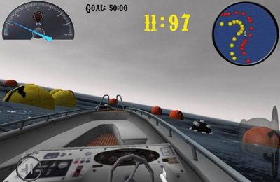 Screenshots do jogo iBoat racer para iPhone, iPad ou iPod.