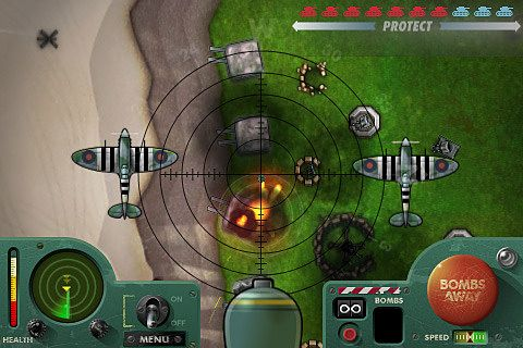 Free iBomber 2 download for iPhone, iPad and iPod.