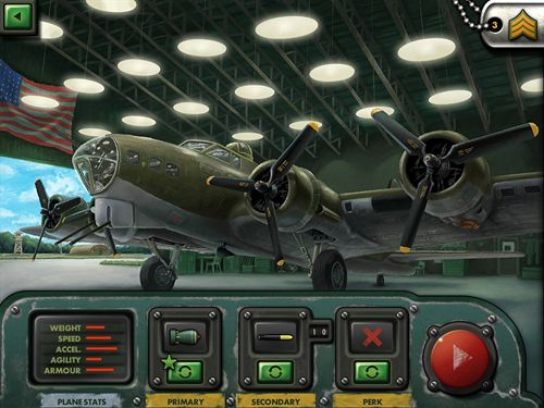Screenshots of the iBomber 3 game for iPhone, iPad or iPod.