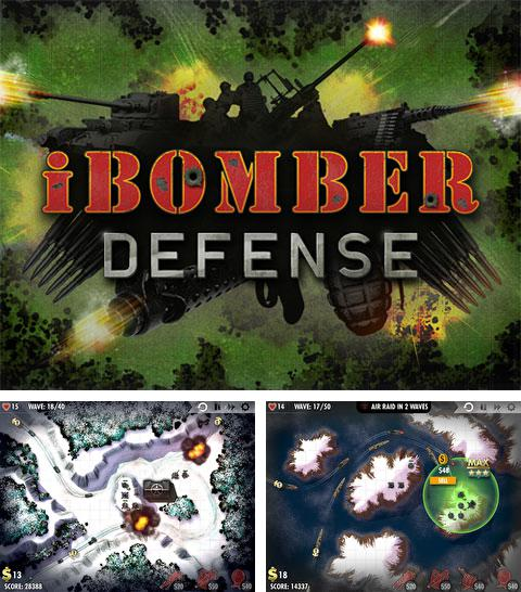 除了 iPhone、iPad 或 iPod 游戏,您还可以免费下载iBomber: Defense, 。