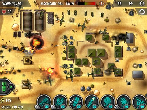 Free iBomber: Defense Pacific download for iPhone, iPad and iPod.