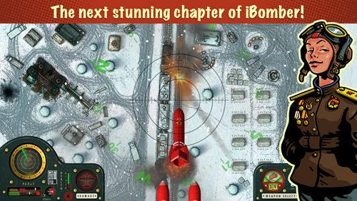 Download iBomber: Winter warfare iPhone free game.